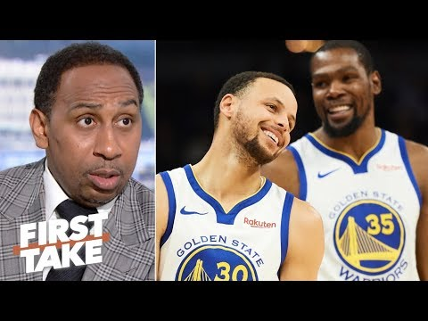 Video: The Warriors' dynasty is over - Stephen A.   First Take