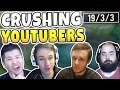 EMBARRASSING FAMOUS LEAGUE YOUTUBERS! FT REDMERCY, PANTS, SRO, GBAY99, GAMING CURIOS