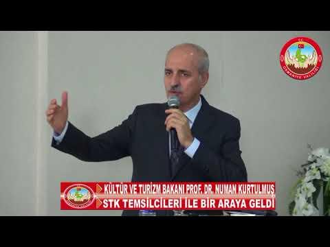 Kurtulmuş, Osmaniye'de Stk Temsilcileri İle Bir Araya Geldi