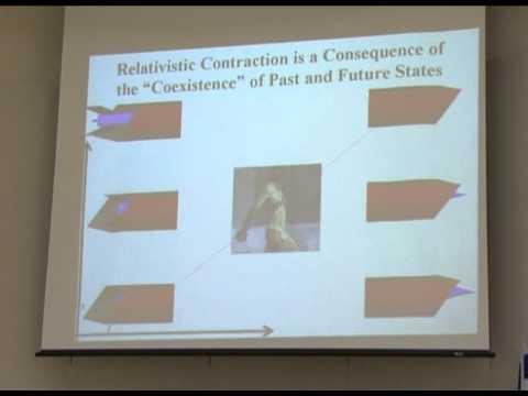 Vortrag über bewusste Erfahrung und Zeit  's Passage
