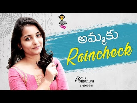 Ammaku Raincheck - Womaniya Episode #11 || DJ Women