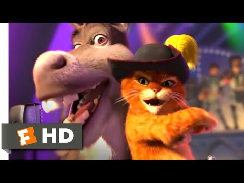 Shrek 2 (2004) - Livin' La Vida Loca Scene (10/10)   Movieclips
