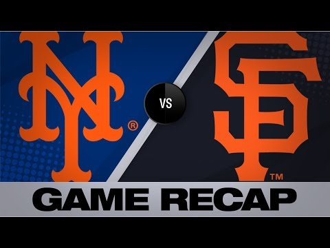 Video: Smith, Alonso power Mets past Giants | Mets-Giants Game Highlights 7/20/19