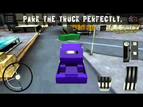 Video of American truck 3D Driving