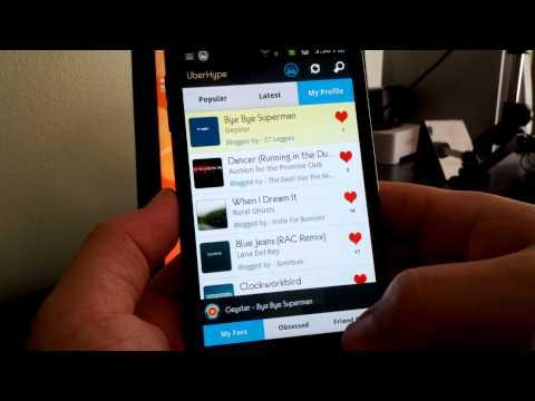 Video of UberHype for Hype Machine