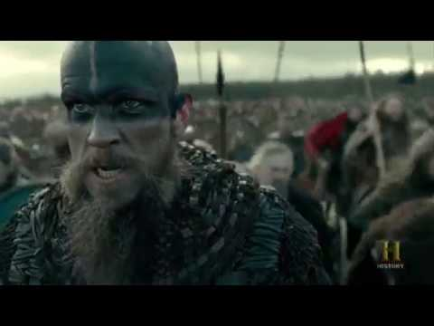 Vikings - The Great Heathen Army Attacks King Aelle's Army [Season 4B Official Scene] (4x18) [HD]