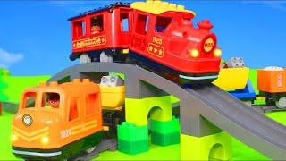 Video Fire Truck, Trains, Tractor, Police Cars, Excavator, Trucks & Construction Toy Vehicles for Kids MP3, 3GP, MP4, WEBM, AVI, FLV Mei 2019
