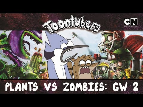 PISA MENOS GIRASSOL NEON!!! PLANTS VS. ZOMBIES: GARDEN WARFARE 2  Toontubers  Cartoon Network