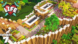 X Life : Ep 7 : Building my Flower Garden! Minecraft Survival Let's Play