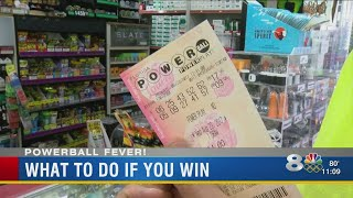 So you've won the life-changing Powerball jackpot, what are you going to do now?