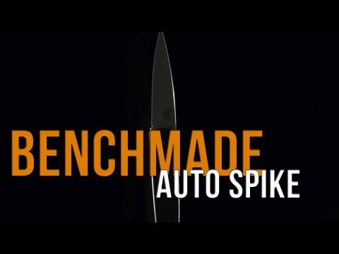 "Benchmade Auto Spike Automatic Knife (3.41"" Bead Blast Plain) 1000-1301"