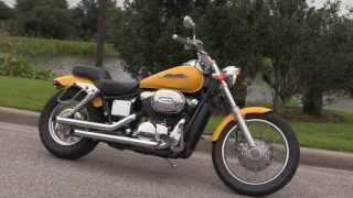 8. Used 2002 Honda Shadow Spirit VT750DC Motorcycle for sale