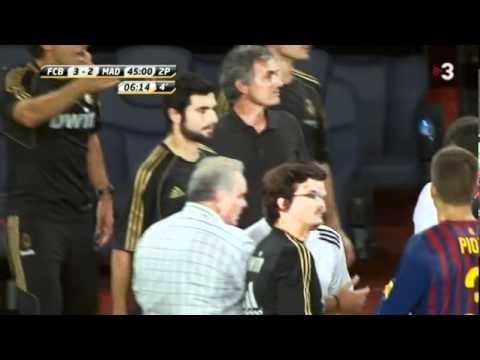 Agresión de José Mourinho a Tito Vilanova (видео)