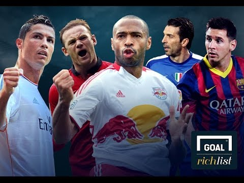 Video: Revealed: The 10 richest footballers in the world