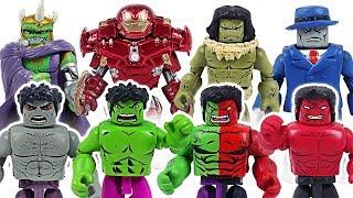 Video Dinosaur has changed! Marvel Avengers Minimates Grey, Red, Compound Hulk army! Go! - DuDuPopTOY MP3, 3GP, MP4, WEBM, AVI, FLV Agustus 2018