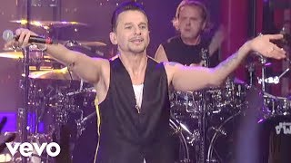 Video Depeche Mode - Enjoy The Silence (Live on Letterman) MP3, 3GP, MP4, WEBM, AVI, FLV November 2018