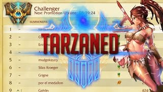 The Season 6 Rank 1, Tarzaned himself.Tarzaned's YouTube: https://www.youtube.com/channel/UCg5qiSDvo1D6S4jv4iyXg4ACheck out his response!https://www.youtube.com/watch?v=uA4h7u80hIs&t=1sSong: Varien - My Prayers Have Become Ghosts