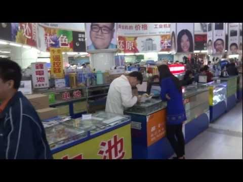 Quick visit to Huaqiangbei electronics mall in Shenzhen, China