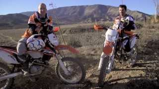 10. 2014 KTM 350 EXC VS. 500 EXC Comparison Video