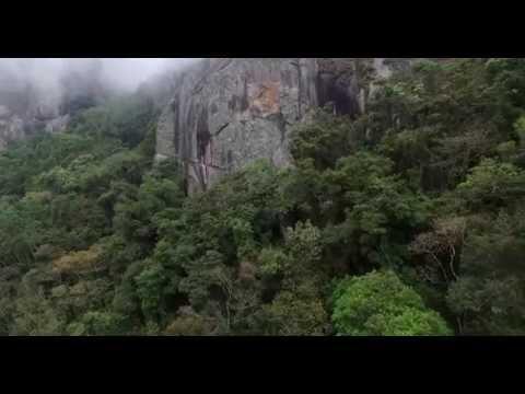 Filmagem das pedras da Serra da Balança, em Gonçalves/MG.