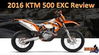 4. 2016 KTM 500 EXC REVIEW