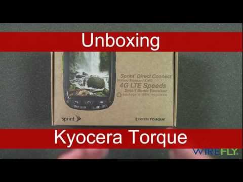 Unboxing Kyocera Torque for Sprint by Wirefly