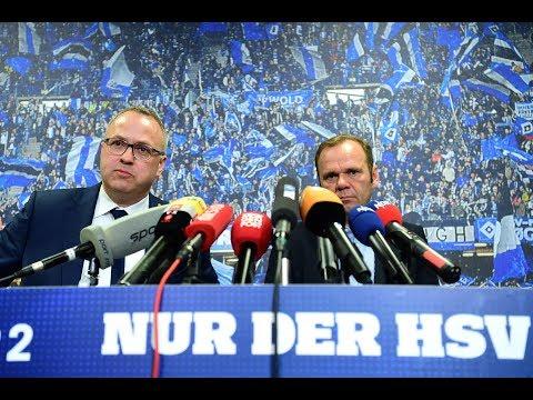 HSV-Beben: Das sagen die neuen Bosse Bernd Hoffmann und ...