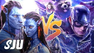 Avengers: Endgame vs Avatar Battle is Back On | SJU by Clevver Movies