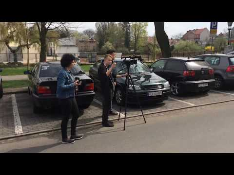 Wideo1: VIII Sztafeta pamięci gen. broni Tadeusza Buka dotarła do ZS nr 4 w Lesznie