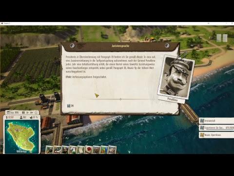 Zap zap - Zap zockt.... Tropico 5: Perlenfürst #1/x (Waterborne DLC Kampagne)