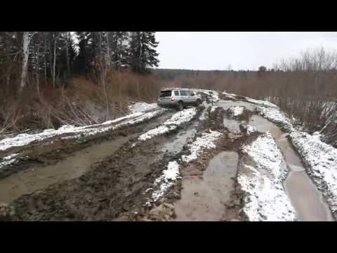 Субару Форестер Off Road (видео)