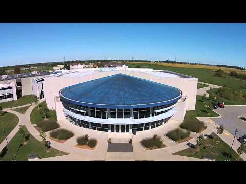 Drone Footage of the Student Activity Center