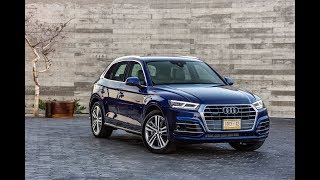 The Audi Q5 is series of compact luxury crossover SUVs produced by the German luxury car manufacturer Audi from 2008,[1] The original first-generation (Typ 8R) model was the third member of the B8 family to be released after the Audi A5 and fourth-generation A4, all being based on the Audi MLB platform. The second generation Q5 (Typ 80A) debuted in 2016 and is shares the Audi MLBevo platform with the corresponding B9 versions of the A4 and A5.