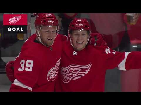 Video: Columbus Blue Jackets vs Detroit Red Wings | NHL | OCT-04-2018 | 19:30 EST
