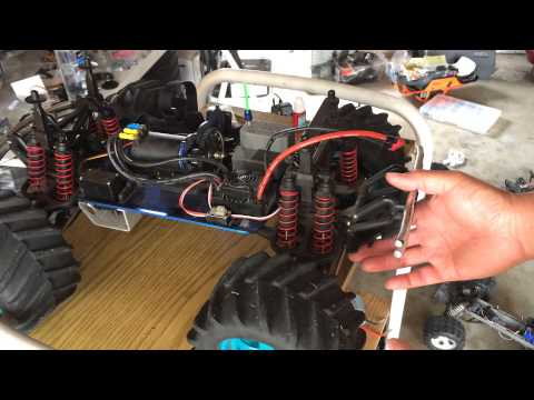 Racing2Learn: Budget Build: T-Maxx Brushless Conversion: Hobbywing EZRUN WP-SC8 3400KV Combo