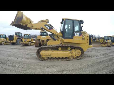Caterpillar ÎNCĂRCĂTOARE CU ŞENILE 963D equipment video C9ioc2syYfE