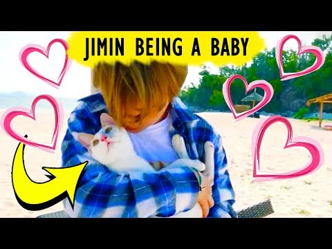 [BTS] JIMIN BEING A CUTE BABY ❤️ | Bangtan Boys