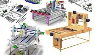 DIY CNC Woodworking Machine-How To Make An Ultra Precise CNC R...