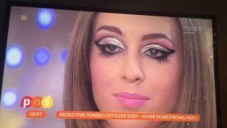 Pytanie na śniadanie – makijaż Sylwester 2016 :D