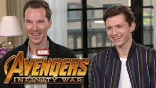 Video 'Avengers: Infinity War': Benedict Cumberbatch and Tom Holland (FULL INTERVIEW) MP3, 3GP, MP4, WEBM, AVI, FLV Juli 2018
