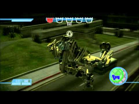 Transformers The Game mods (playing as bonecrusher, brawl and shockwave)