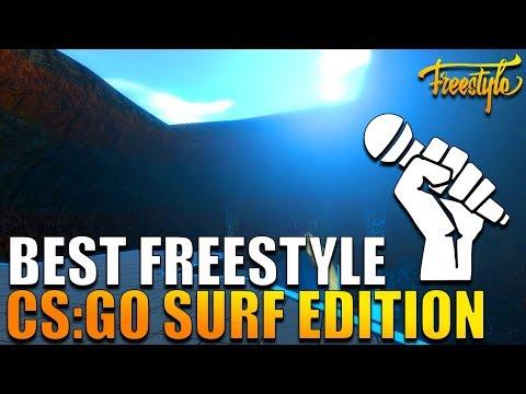 NEJLEPŠÍ CS:GO FREESTYLE RAP NA SURFU!