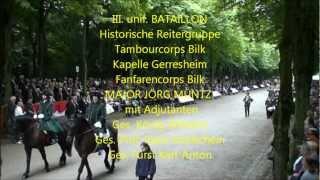Schützenzug Düsseldorf 20120715 Parade 10