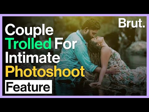 Couple Trolled for Intimate Post-Wedding Photoshoot