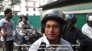 Cycling & the city : Kathmandu