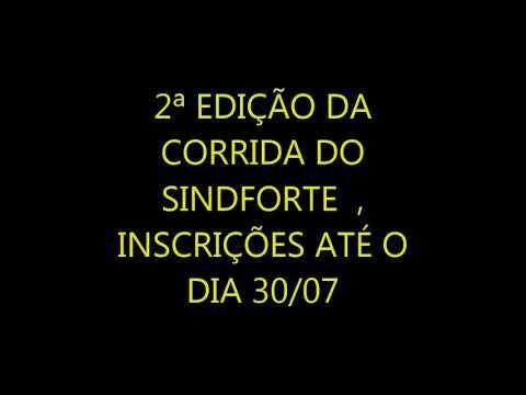 2ª EDIÇÃO DA CORRIDA DO SINDFORTE/RN