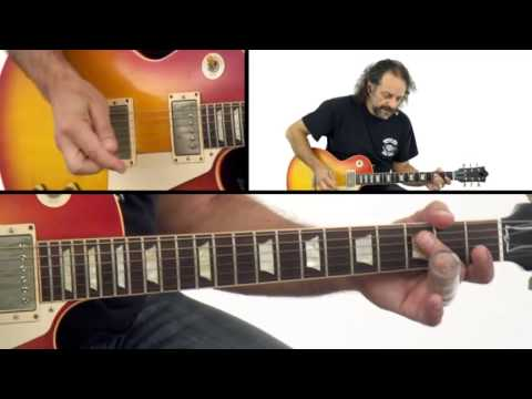 Blues Slide Guitar Lesson – #36 Johnny Winter Performance – Slide Guitar Power – Andy Aledort