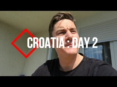 A.W.N.T.Y IN CROATIA! Day 2 : Air B&B Apartment