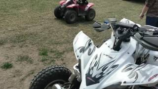 10. 2006 yfz 450  hot cams kit and jetted carbs super fast