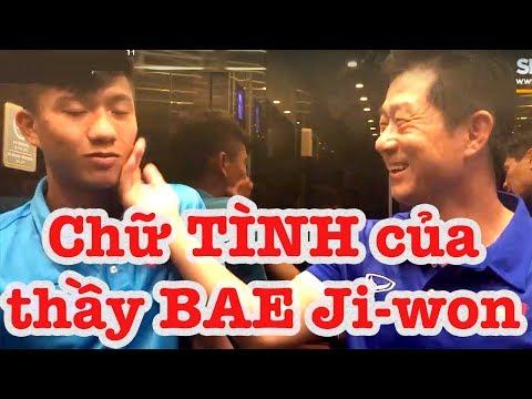 HLV Bae Ji-won - vị thần sức mạnh của HLV Park Hang Seo và ĐT Việt Nam - Thời lượng: 15 phút.